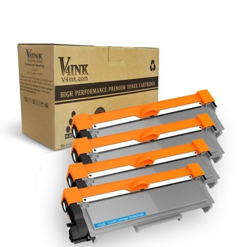 Brother TN660 TN630 Compatible High Yield Black Toner Cartridge - 4 pack