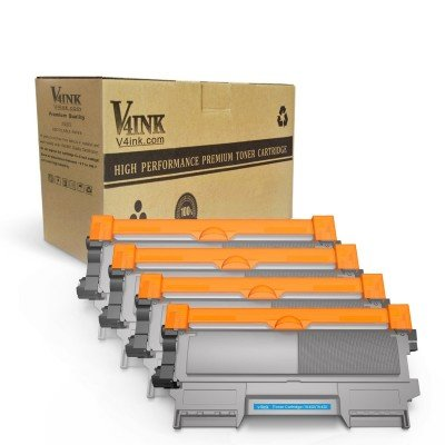 Brother TN450 TN420 Compatible Black Toner Cartridge - 4 Pack