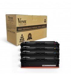 HP 201X (CF400X CF401X CF402X CF403X) Compatible Toner Cartridge - 4 Pack