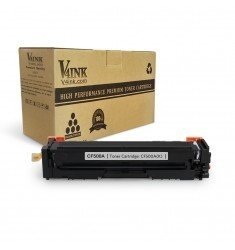 HP 202A CF500A Compatible Toner Cartridge, Black, 1 Pack