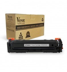 HP 202X CF500X Compatible Black Toner Cartridge, High Yield
