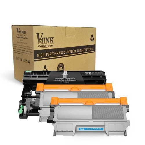Brother TN450 & DR420 Compatible High Yield 3-Piece Combo Pack (2 Toner +1 Drum)