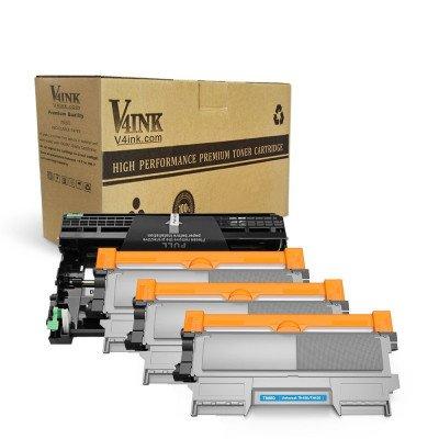 Brother DR420 Drum Unit+TN450 TN420 Toner Cartridge (3Toner