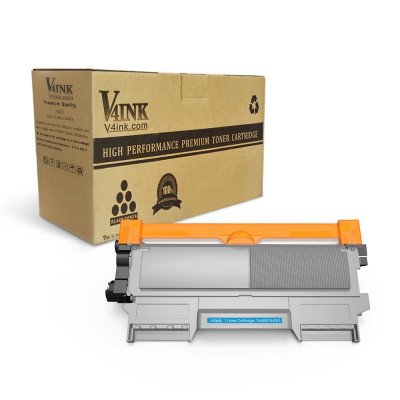 Brother TN450 TN420 Compatible Toner Cartridge, Black, High Yield