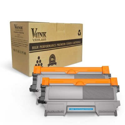 Brother TN450 TN420 Compatible Black Toner Cartridge, High Yield, 2 Pack