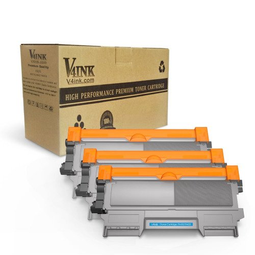 Brother TN450 TN420 Compatible Black Toner Cartridge - 3 Pack